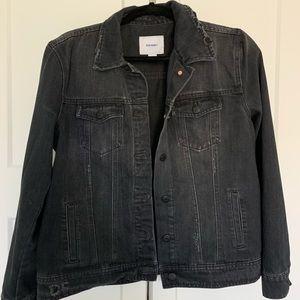 Old Navy Black Denim Jacket